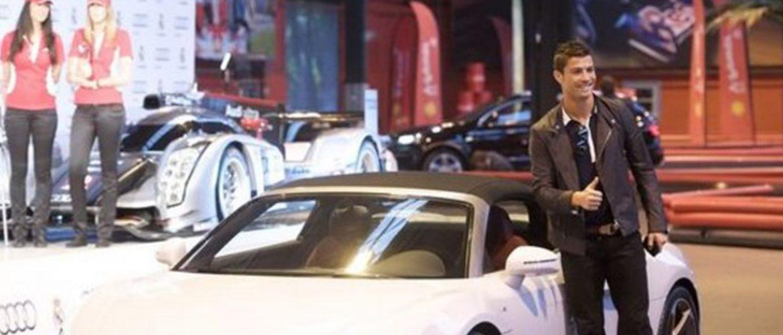 Il parco auto di Cristiano Ronaldo